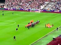 "В матче первого тура чемпионата Англии футболисты ""Манчестер Сити"" со счетом 5:0 разгромили на олимпийском стадионе Лондона ""Вест Хэм"""