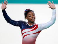 Байлз стала первой гимнасткой, выполнившей двойное сальто назад с двумя винтами (ВИДЕО)