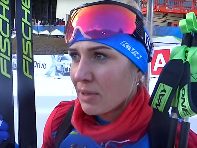 Биатлонистка Маргарита Васильева дисквалифицирована на полтора года