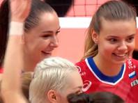 Российские волейболистки выиграли второй матч на Кубке мира
