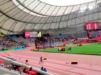 Чемпионат мира по легкой атлетике проходит при полупустых трибунах