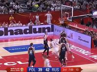 Российские баскетболисты не смогли выйти в плей-офф Кубка мира