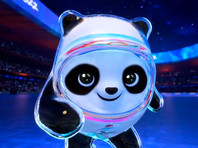 Китайцы представили талисман Олимпиады-2022 - панду Дунь Дунь