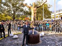В Швеции установили прижизненный памятник футболисту Златану Ибрагимовичу