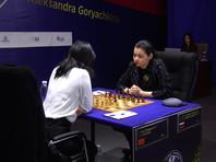 Горячкина свела вничью предпоследнюю партию матча за шахматную корону