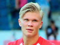 19-летний норвежец Холанд установил два рекорда Бундеслиги