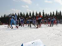 В деревне Головино (Истринский район) состоялись необычные соревнования по лыжным гонкам. За награды и призы боролись призеры Олимпиад и любители-физкультурники, среди которых большинство - офисные работники