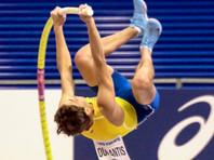 Швед Дюплантис установил новый мировой рекорд в прыжках с шестом