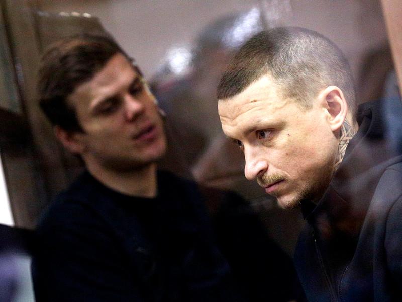 Уголовное дело футболистов Кокорина и Мамаева отправили на пересмотр из-за нарушений закона