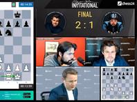 Чемпион мира по шахматам Магнус Карлсен выиграл организованный им супертурнир
