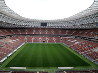 """Праздничные мероприятия на стадионе """"Лужники"""", посвященные 40-летнему юбилею проведения Олимпийских игр в Москве, отменены из-за пандемии коронавируса. Торжества теперь планируется провести в онлайн-формате"""