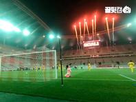 В Южной Корее на пустых трибунах футбольного стадиона рассадили секс-кукол (ВИДЕО)