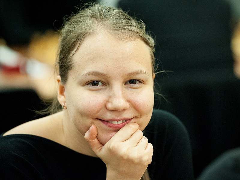 Валентина Гунина победила на этапе онлайн-турнира по быстрым шахматам