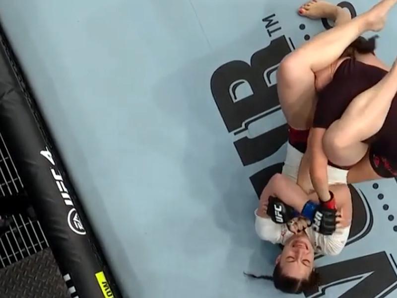 Москвичка Лиана Джоджуа одержала первую победу в UFC, сломав руку сопернице