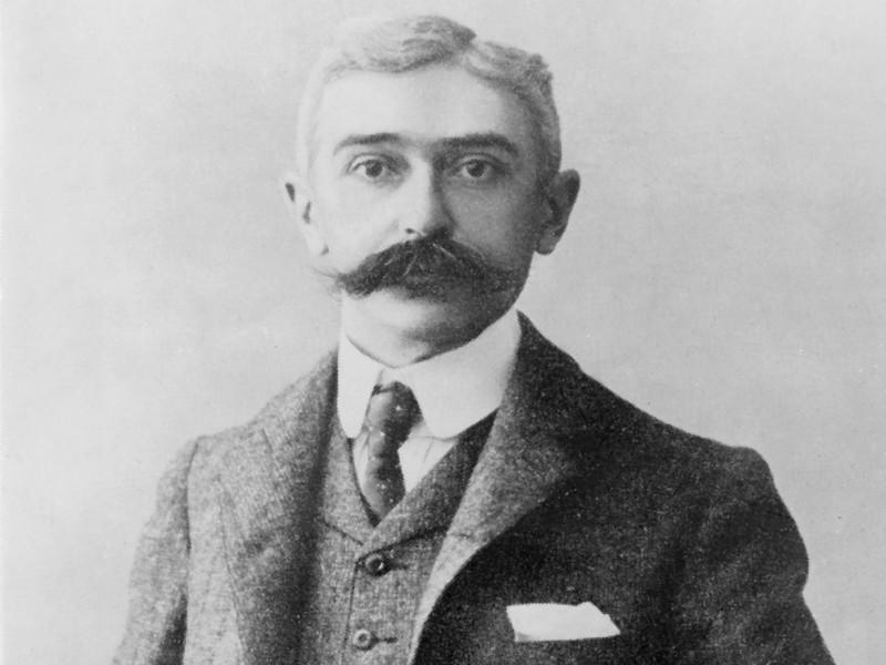 Основатель современного олимпийского движения барон Пьер де Кубертен