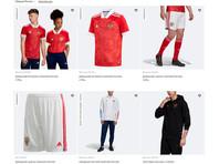 Компания Adidas переделала скандальную форму для сборной России по футболу