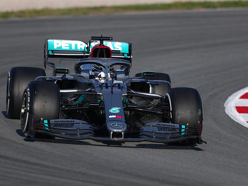 Пилот Хэмилтон будет стартовать с первой позиции на бельгийском Гран-при