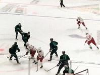 """Уфимский """"Салават Юлаев"""" на домашнем льду со счетом 6:5 переиграл подмосковный """"Витязь"""" в матче регулярного чемпионата Континентальной хоккейной лиги"""