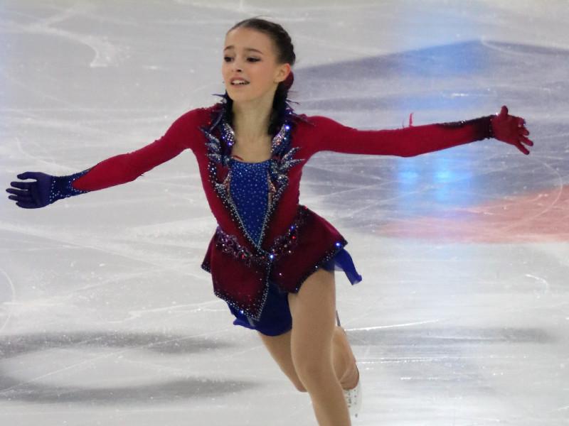 Фигуристка Щербакова выиграла первый этап Кубка России с отрывом в 40 баллов