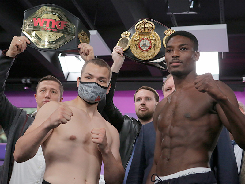 Федор Чудинов отправил британского боксера в московскую больницу
