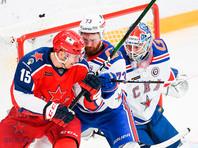 ЦСКА вышел победителем из армейского дерби КХЛ