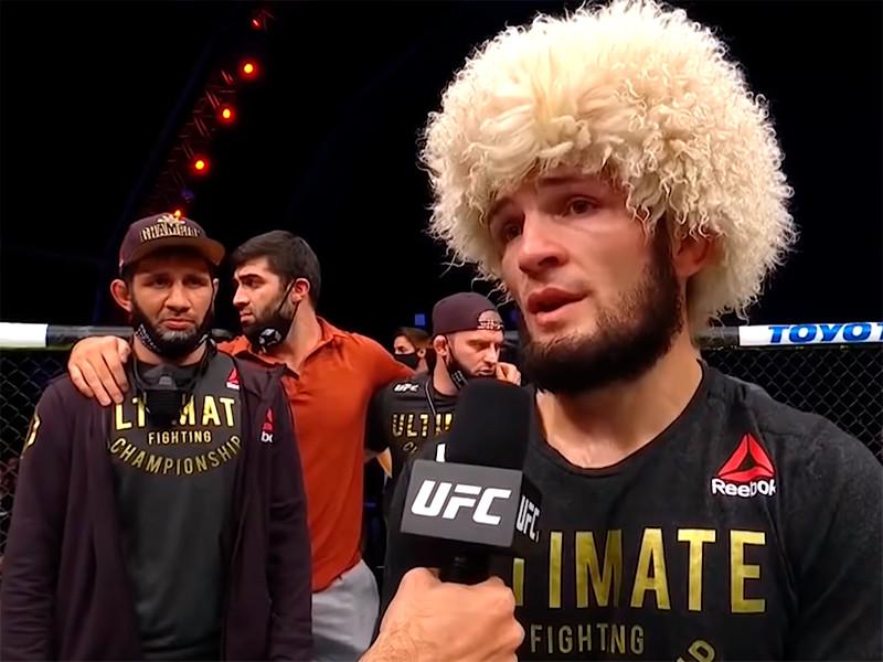 Хабиб Нурмагомедов поднялся на вершину рейтинга UFC вне весовых категорий