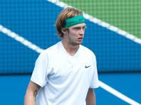 Андрей Рублев вышел в полуфинал теннисного турнира в Санкт-Петербурге