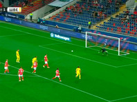 Российские футболисты проиграли шведам товарищеский матч