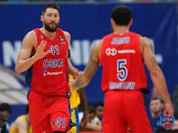 ЦСКА выиграл первый матч в новом сезоне баскетбольной Евролиги