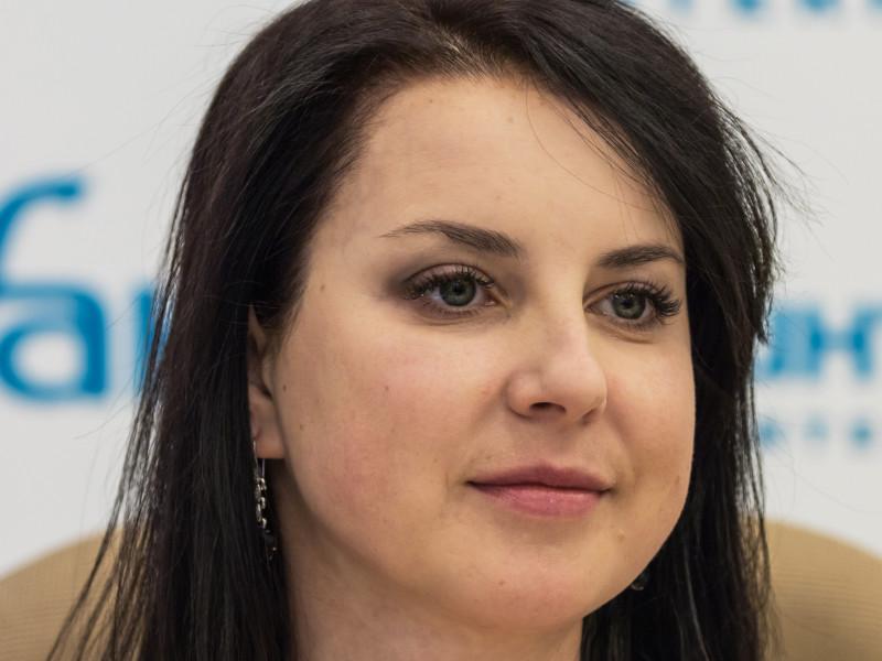 Бывшая фигуристка Ирина Слуцкая
