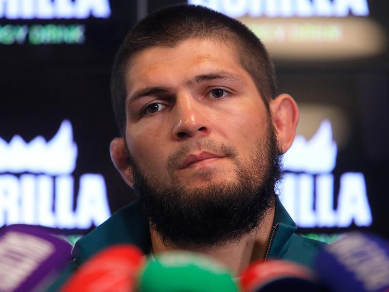 Хабиб Нурмагомедов сохранил второе место в рейтинге лучших бойцов UFC