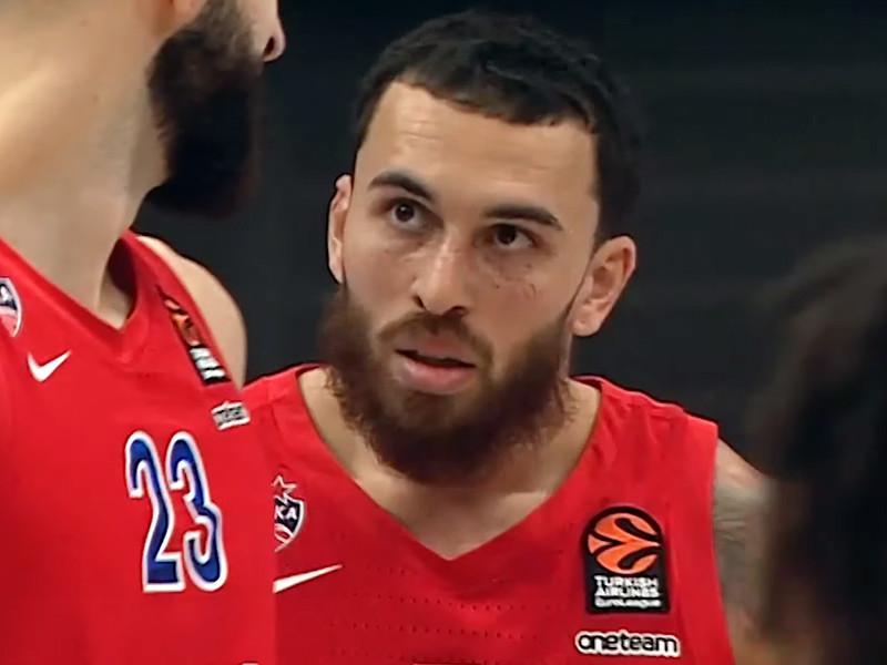 Баскетболист ЦСКА Майк Джеймс признан игроком месяца в Евролиге
