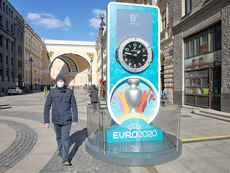 Британские журналисты не исключают, что Евро-2020 могут отдать Англии
