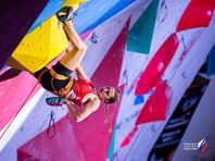 Виктория Мешкова стала чемпионкой Европы по скалолазанию