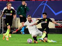 """Краснодарцы вели 2:0 и целый тайм имели численное преимущество в игре с испанской """"Севильей""""0"""