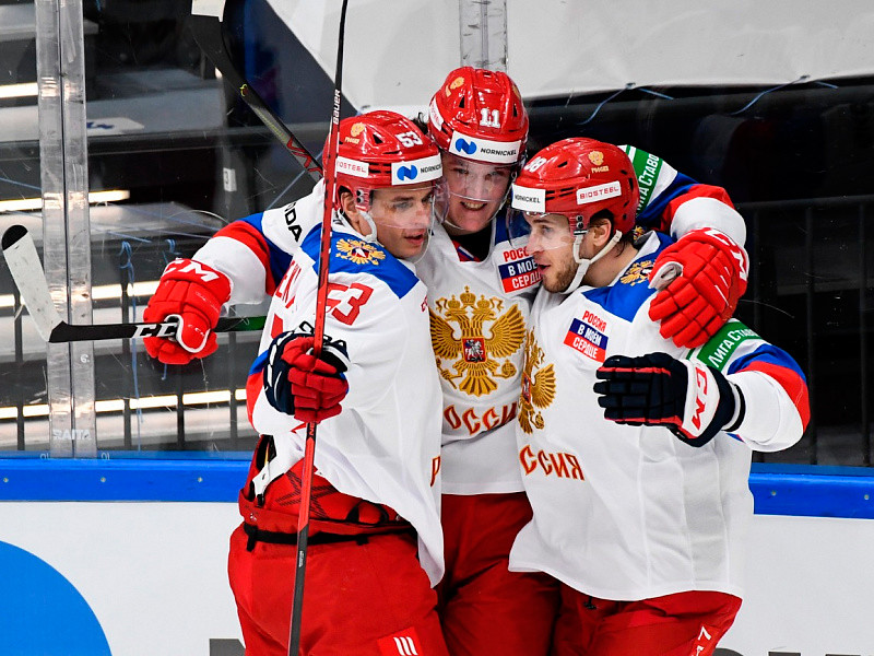 Российские хоккеисты победили на домашнем этапе Евротура