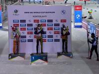 Победу в гонке одержал норвежец Тарьей Бе, преодолевший дистанцию в 10 км за 24 минуты 3,7 секунды без промахов на двух огневых рубежах. Второе место занял немец Арнд Пайффер (+ 13,9 сек; 0 промахов), третьим стал норвежец Йоханнес Бе (+29,4; 1)