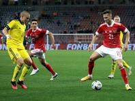 Россия завершает год на 39-м месте в мировом рейтинге ФИФА