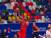Баскетболисты ЦСКА вышли в лидеры Евролиги после седьмой победы подряд