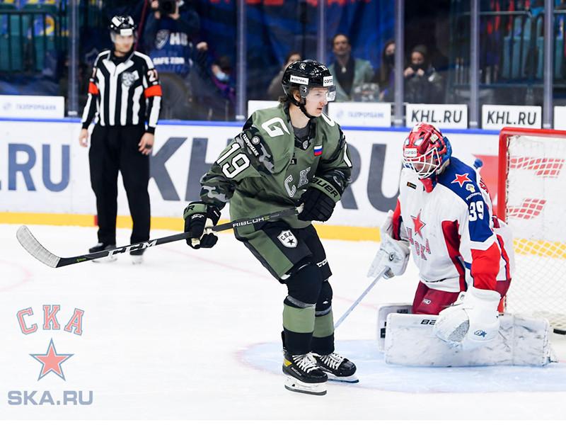 Питерские армейцы одолели московских в чемпионате КХЛ