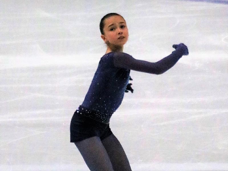 Фигуристка Валиева выиграла пятый этап Кубка России с рекордными баллами