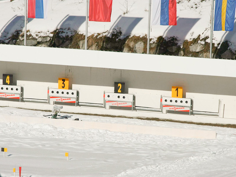 В австрийском Хохфильцене мужская сборная России заняла четвертое место в эстафете на третьем этапе Кубка мира по биатлону