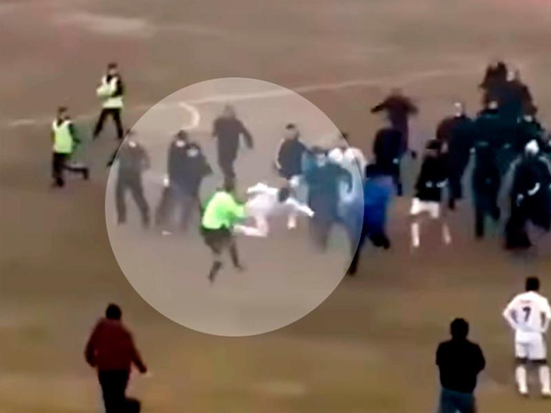 В Узбекистане футболист вырубил судью приемом из Mortal Kombat