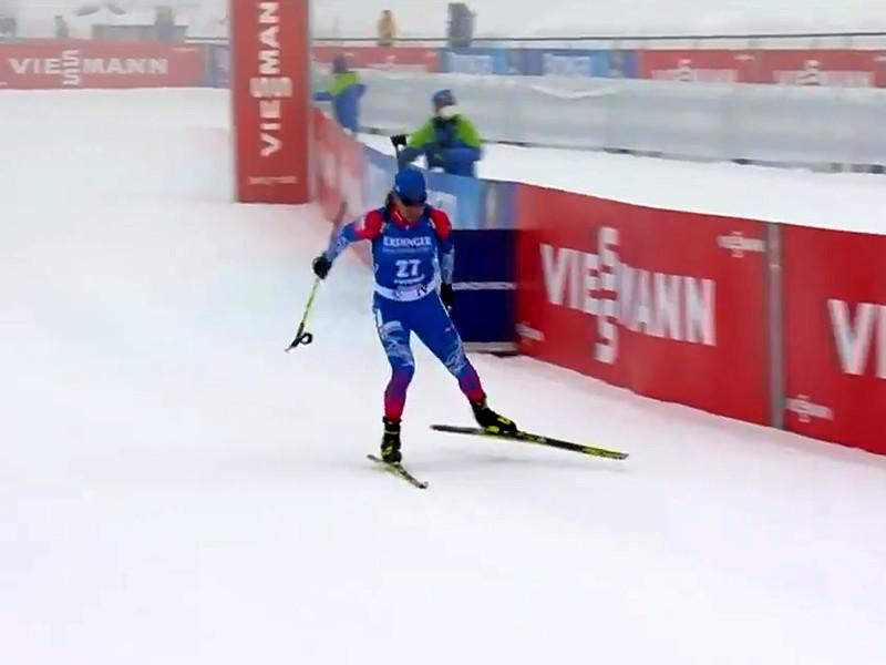 Биатлонист Логинов победил в индивидуальной гонке на итальянском этапе Кубка мира