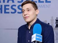 18-летний российский гроссмейстер обыграл на супертурнире чемпиона мира по шахматам