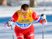 """Александр Большунов не сумел выиграть шестую гонку подряд на """"Тур де Ски"""""""