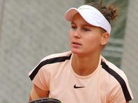 Теннисистка Кудерметова проиграла первый в карьере финал турнира WTA
