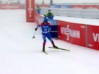 Биатлонист Логинов со сломанной палкой добыл первую с февраля победу на Кубке мира