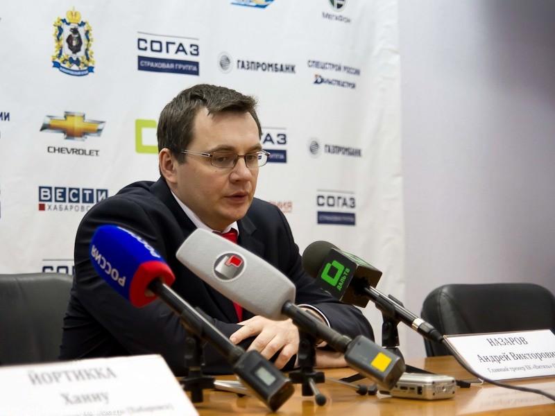 Андрей Назаров призвал КХЛ ввести дисквалификации за поддержку Навального