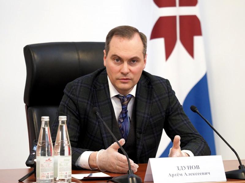 Врио главы Мордовии Артем Здунов